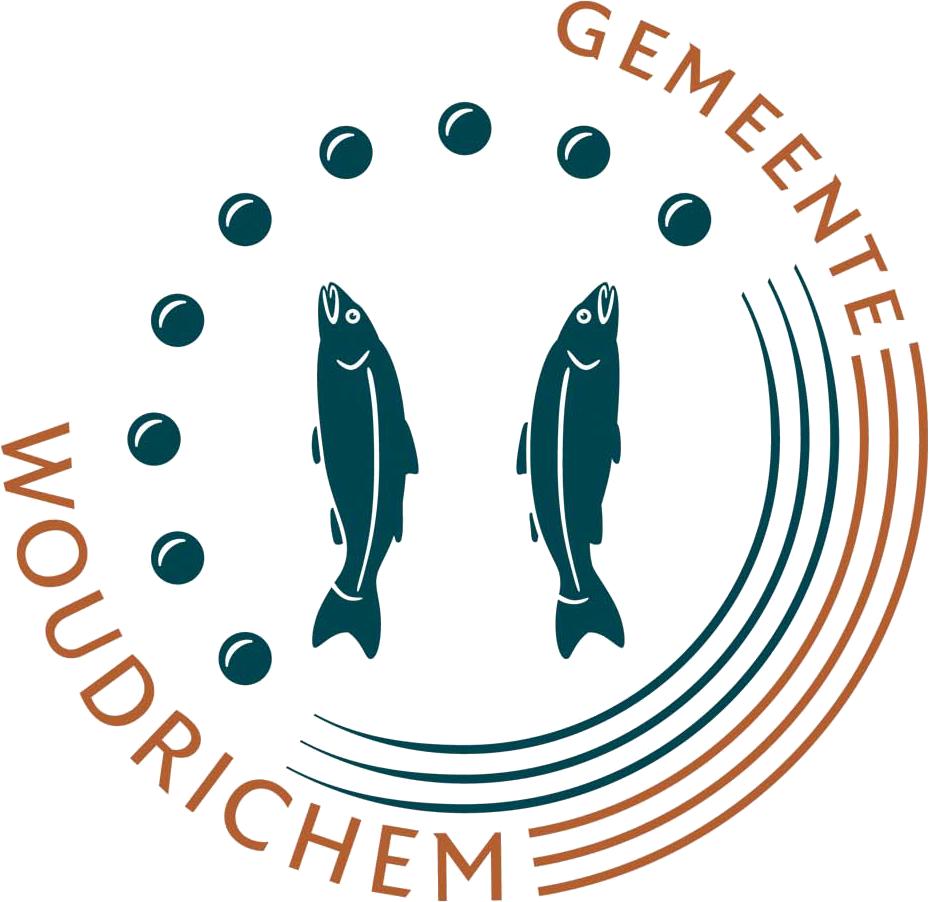 Gemeente Woudrichem logo
